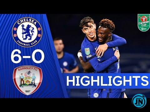 Chelsea 6-0 Barnsley - Carabao Cup